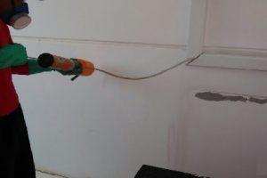 Procedimento utilizado com aplicação de produto em rede elétrica e telefonia, com maior alcance e eficácia.